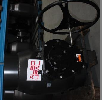 Кран шаровой приварной КШ.П.500.25-01 Ду500 Ру25